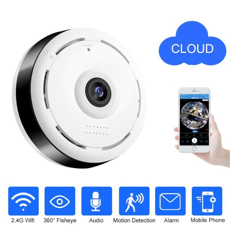 New 960P Version WIFI Mini Camera IR Night Vision Motion Detection Intercom Webcam Wireless IP Cam With Remote Indoor Smart Home