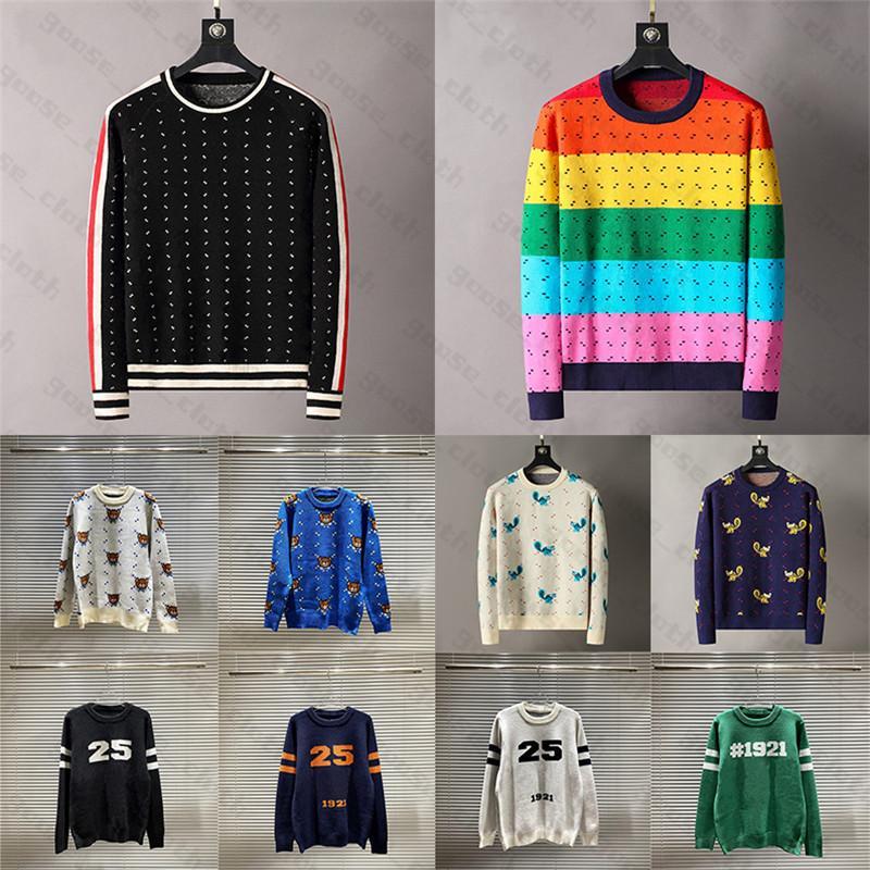 Mens Designer Designer Maglioni Pullover Uomini con cappuccio manica lunga maglione maglione ricamo maglieria abbigliamento uomo abbigliamento inverno vestiti