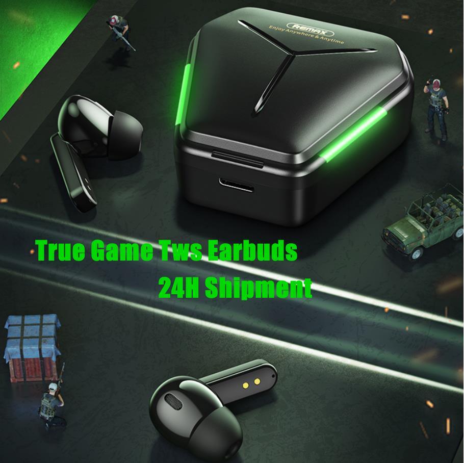 True Wireless Ohrhörer Stereo Music Gaming Headset Bluetooth 5.0 Kopfhörer Gamer Headset HIFI Verlustloser Sound für Spiel