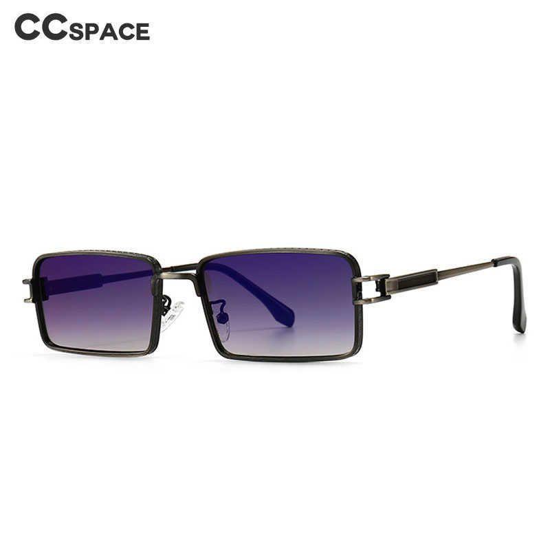46606 Retro Punk Sonnenbrille Kleiner Rahmen Quadratische Männer Frauen Mode Shades UV400 Vintage Gläser 210529