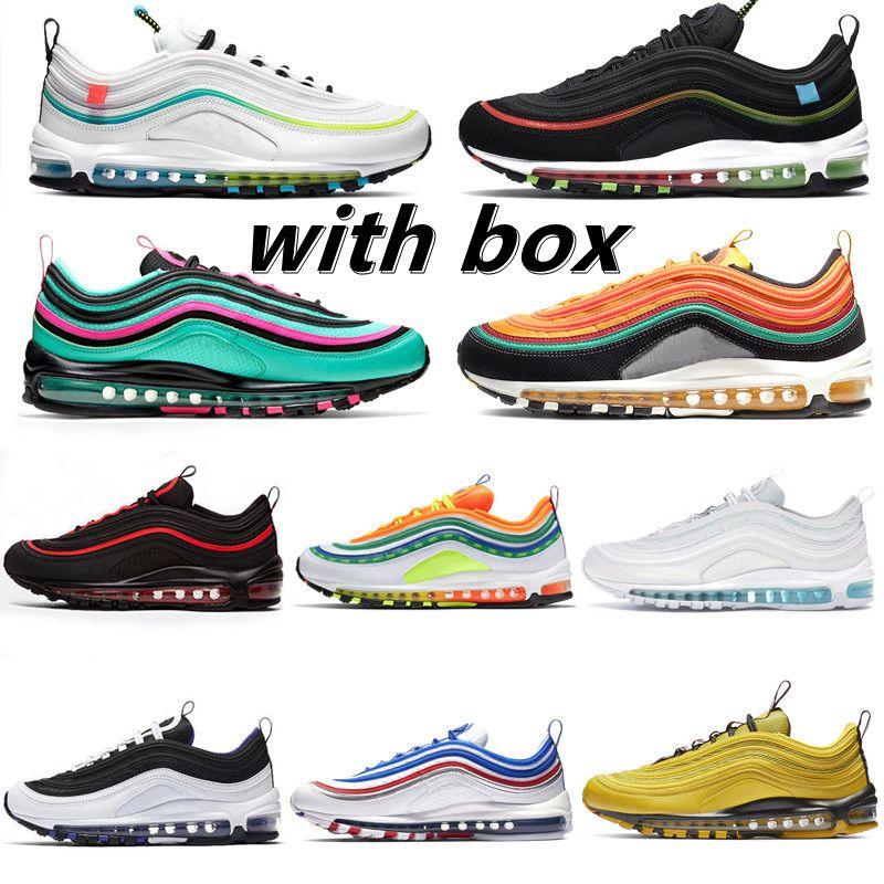 2021 Bullet Sean WedersPoon 97s Frauen Sportschuhe Jogging Wanderung Wandern Kissen Sneaker Herren Running Outdoor 97 Chaussures
