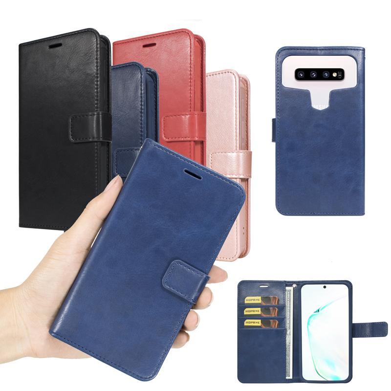 Casos universais da carteira PU flip couro caso Capa de cartão de crédito Capa de TPU para 4,9 a 6,0 polegadas iphone samsung moto oppo onoplus huawei xiaomi