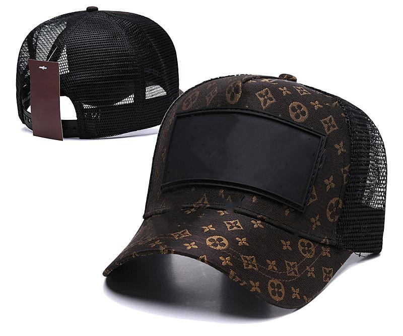 2021 La letra Snapback Caps Exclusive Dibujos de diseño personalizado Cap Men Mujer Mujeres Ajustable Golf Sombrero de Béisbol Casquette Sombreros