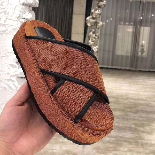 flat sandals embroidery black thick soled slippers shallow beach leisure indoor complete set of accessories