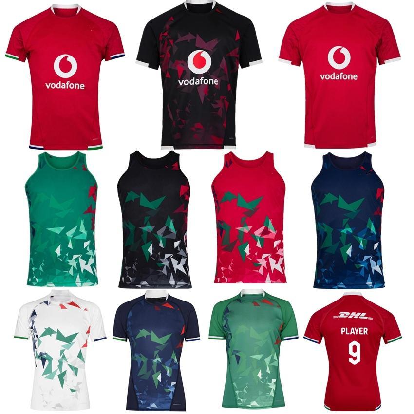 Nuovo 2020 2021 British Irish Lions Rugby Jersey 20 21 British Lions Rugby Home Shirt Training Shirt da uomo Maglie da uomo Dimensioni S-5XL