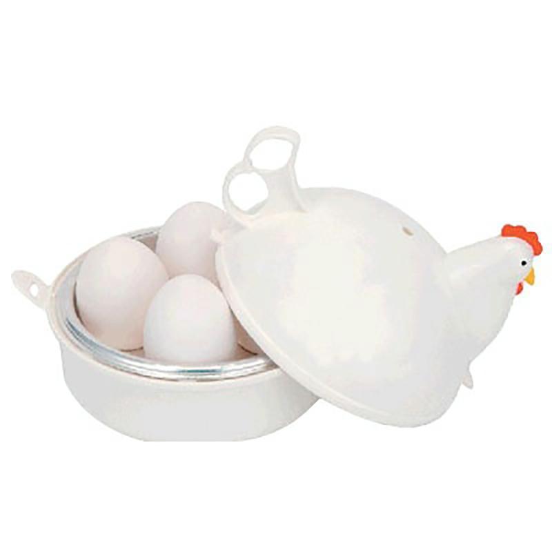 Eierkessel Hähnchenförmige Mikrowelleneier Kesselkocher Küche Kochen Geräte, Home Tool