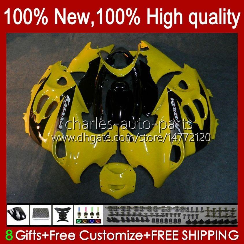 Corpo per Suzuki Katana GSX600F GSXF600 GSXF750 GSXF600 GSXF750 GSXF 600 750 cc 98 99 00 01 02 29NO.62 600CC 750CC GSX750F GSXF-600 GSX750F GSXF-600 GSXF-750 1998 1999 2000 2001 2002 Fairing Yellow Stock
