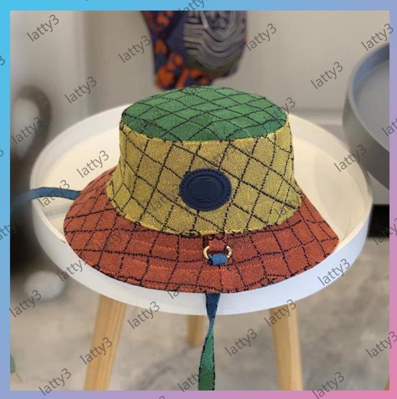 23 estilos multicolor sombrero sombreros gorras gorras para mujer hombres sombreros Cappelli firmati lujos diseñadores gorras sombreros hombres bonete gorro verano gorra strawcap