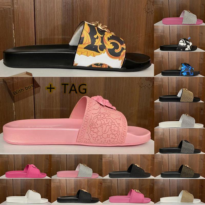 Katır sahil erkek kadın terlik slayt sandalet tasarımcılar ayakkabı lüks bayan erkek yaz moda geniş düz kaygan kalın terlik flip flop