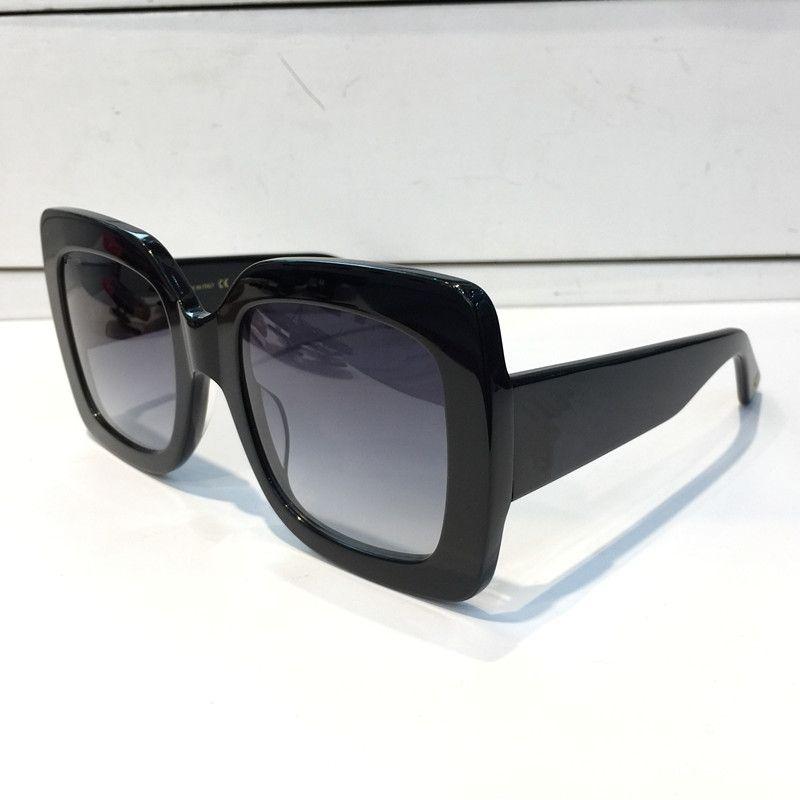 0083 Beliebte Frauen Mode Sonnenbrille Square Sommer Stil Full Frame Top Qualität UV-Schutz 0083s Sonnenbrille Mischfarbe Kommen Sie mit Box