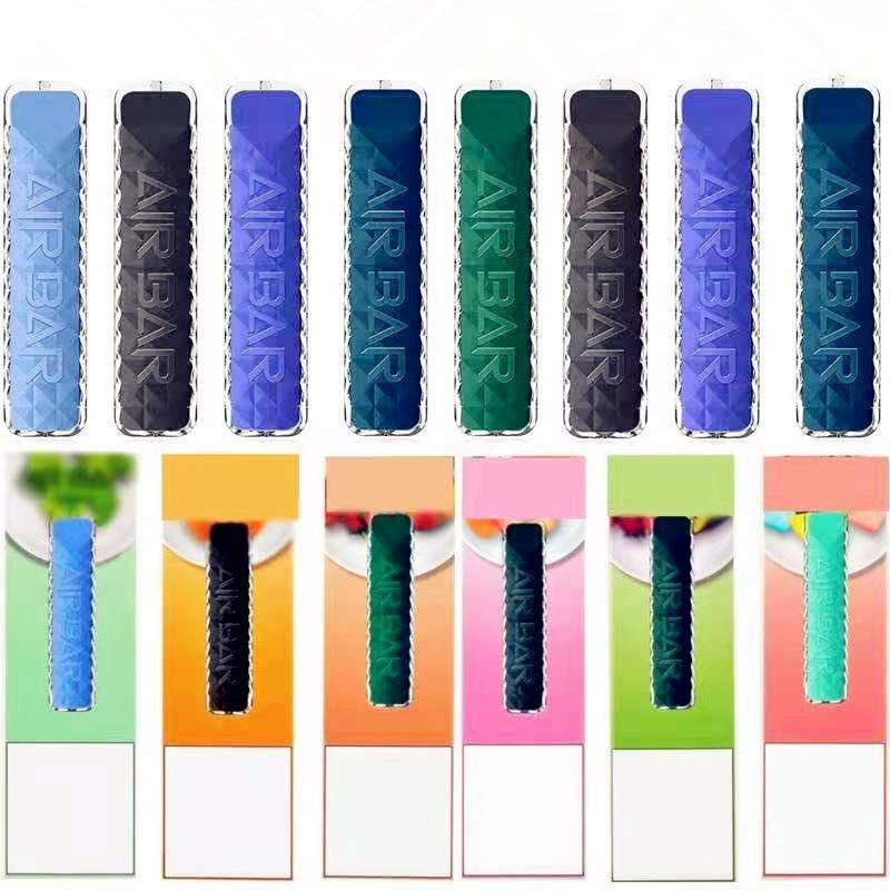 에어 바 다이아몬드 일회용 vape 전자 담배 펜 포드 디바이스 내장 380mAh 배터리 1.8ml 포드 500 퍼프 Dab 스타터 키트 Bang XXL 퍼프 맥스