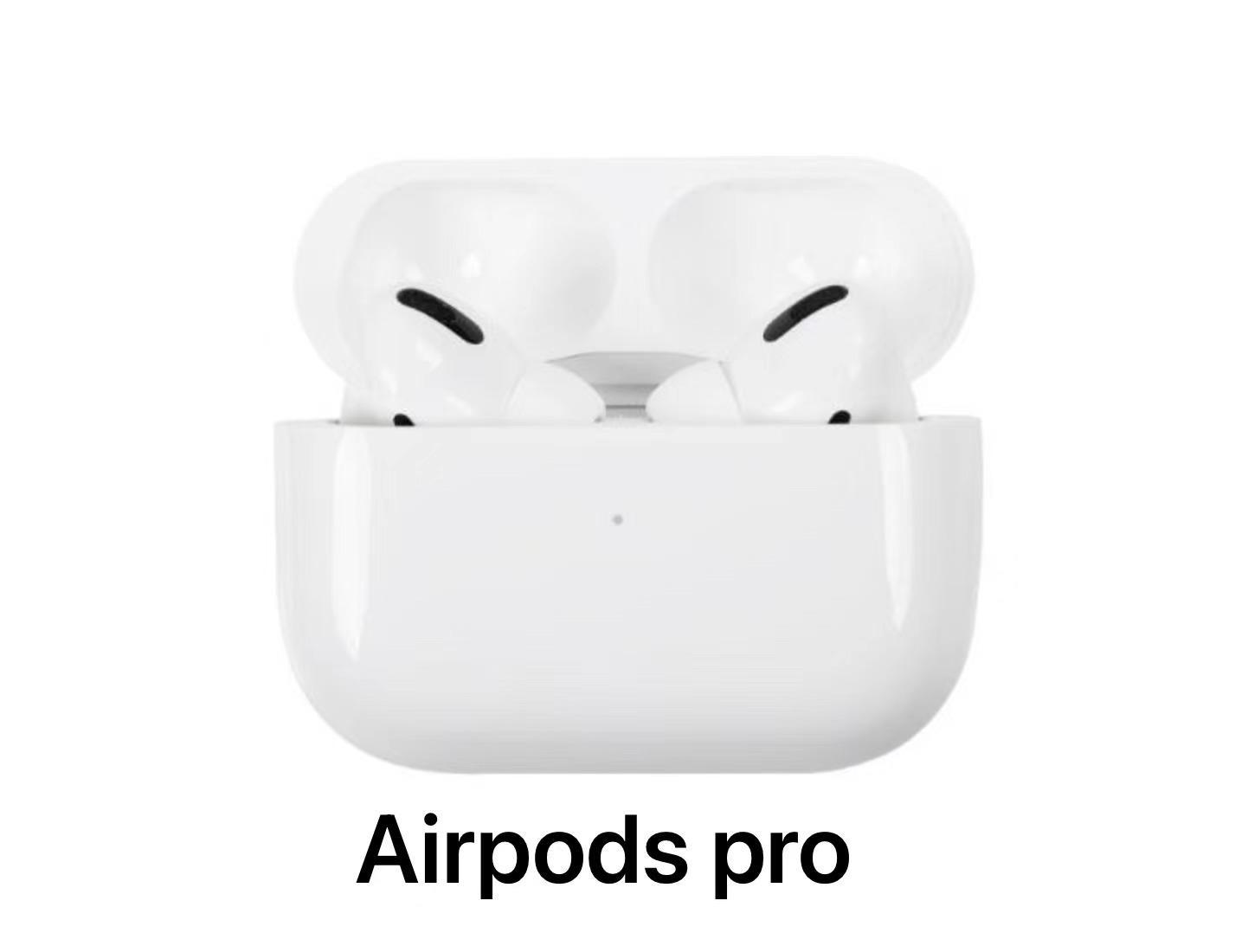 Airpods Pro Ruído Cancelar ANC TWS Earphones GPS Renomear Pro Pop Up Janela Bluetooth Headphone Paring Caixa de carregamento sem fio