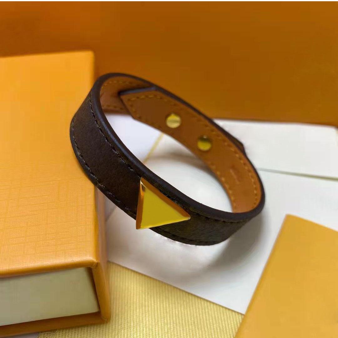 Vente chaude Bracelet Unisexe Bracelets de mode pour homme Femmes Cuir Bracelet à chaîne Réglable Bijoux de mode
