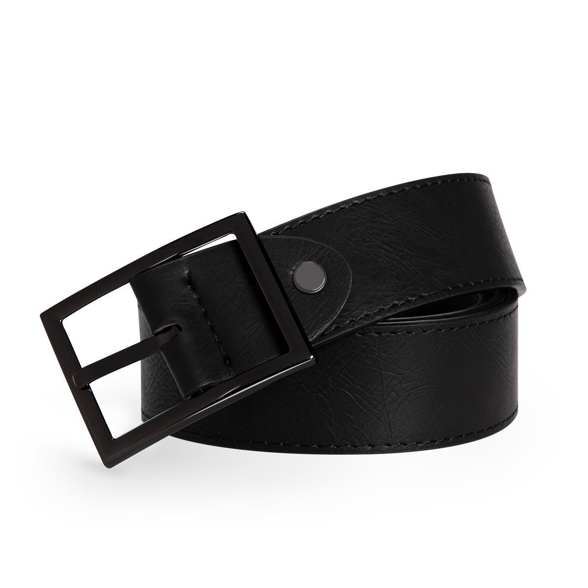 Cuchillos de cuero para hombre Cinturón de alta calidad para hombres Hebilla automática Correas masculinas Causales Causales para pantalones Jeans Yunclos Marcas