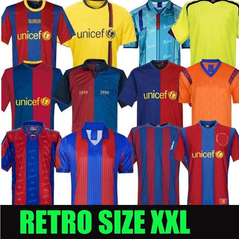Barcelona Retro Soccer Jerseys 05 06 07 07 08 08 09 10 11 12 13 15 16 19 20 91 96 97 98 99 ميسي رونالدينهو رونالدو 100th جيرسي كرة القدم
