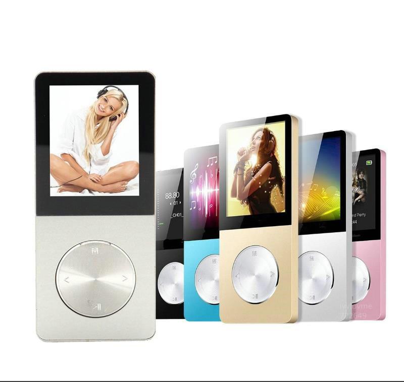 MP4 jogadores 2021 liga de alumínio 8GB 16GB 32GB MP3 player com alto-falante embutido FM livro HiFi WALKMAN VIDEO Música sem perdas MP 3