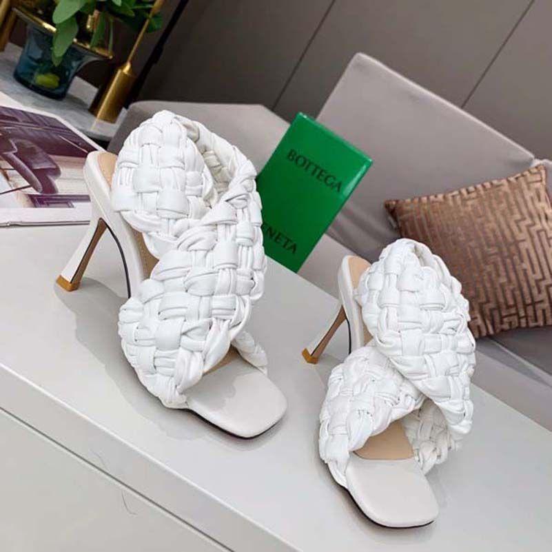 Lüks Yüksek Topuklu Bayan Ayakkabıları Siyah Yüksek Topuklu Ayakkabı Yüksek Topuklu kadın Gelinlik Shoelace Box Shoe008 123