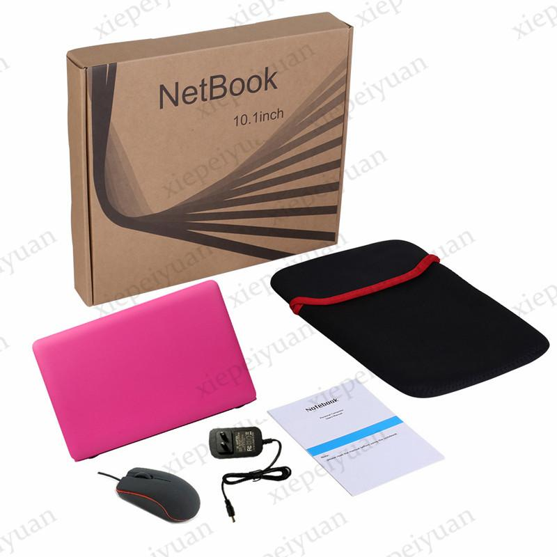 10.1 inç Mini Laptop Dizüstü Bilgisayar Ultrathin HD Hafif ve Ultra-ince 2 GB + 32ggb Lapbook Quad Core Android 7.1 Netbook