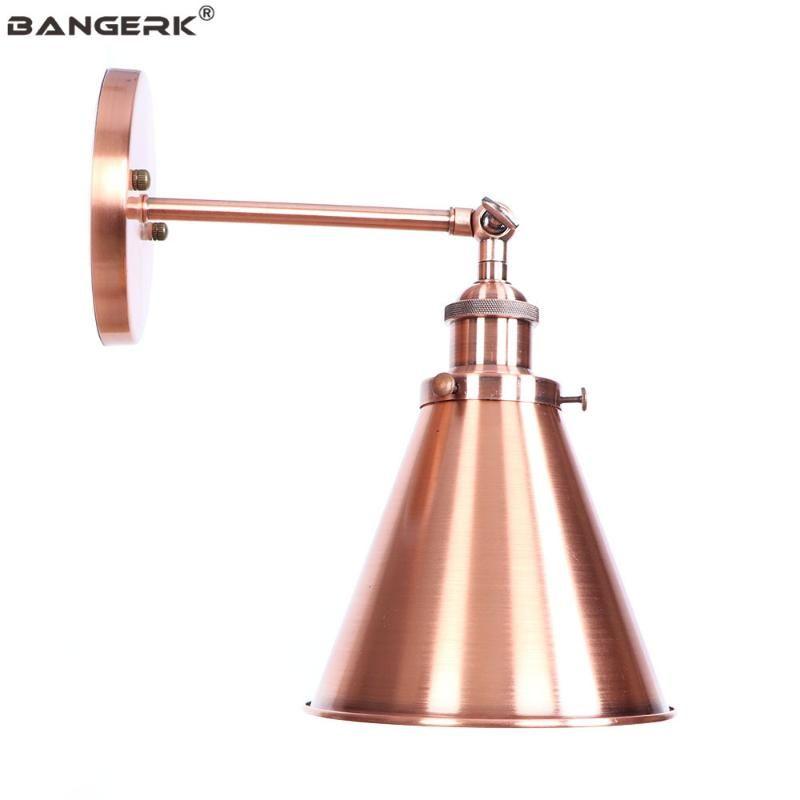Wall Lamp Vintage Loft Decor Iron Adjust Edison Light Sconces Antique LED Bedside Indoor Lighting Fixtures Wandlamp