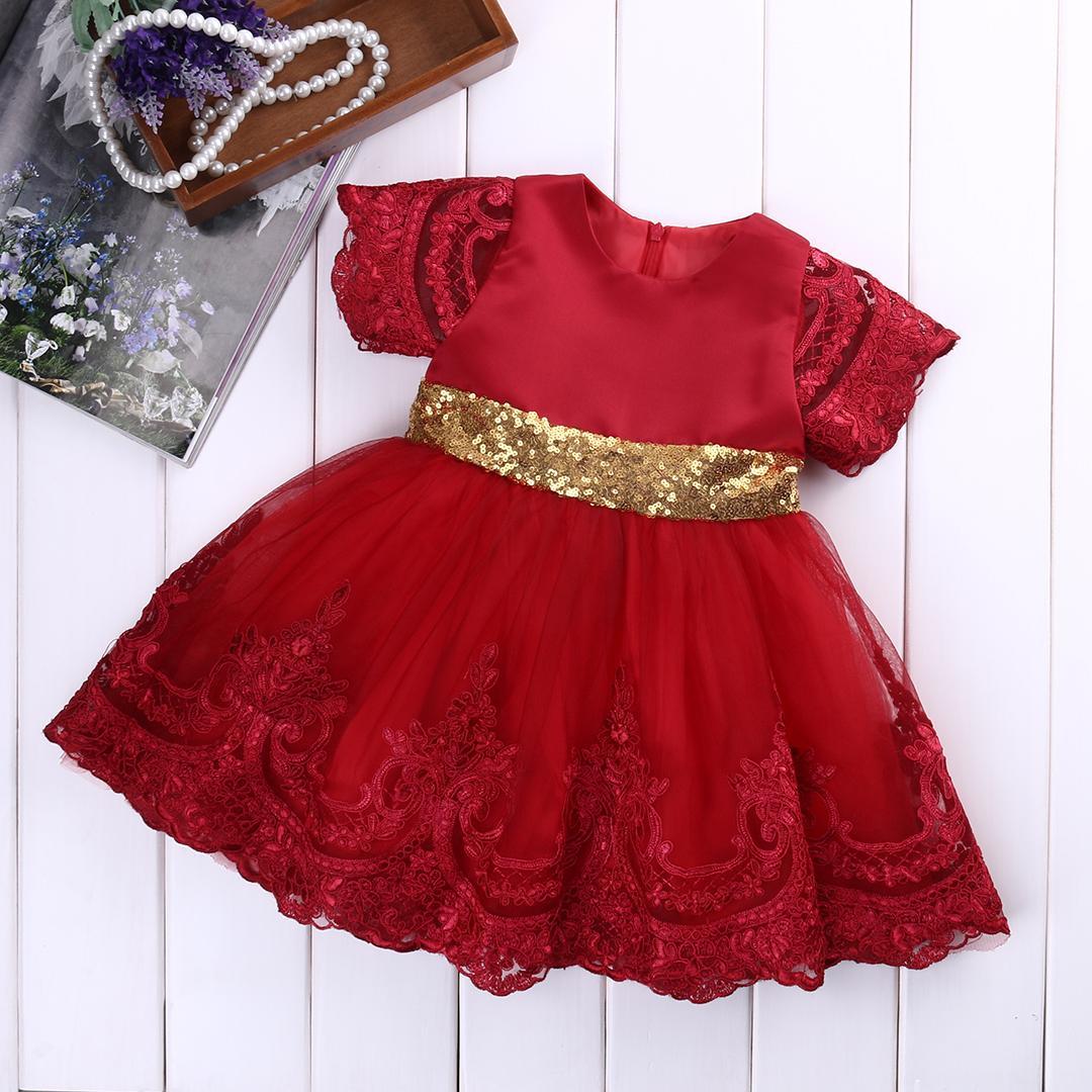 Baby Mädchen Kleidung Prinzessin Kleid Kleidung Kurzarm Spitze Bogen Ball Kleid Tutu Party Kleid Kleinkind Kinder Fancy Kleid 0-7Y