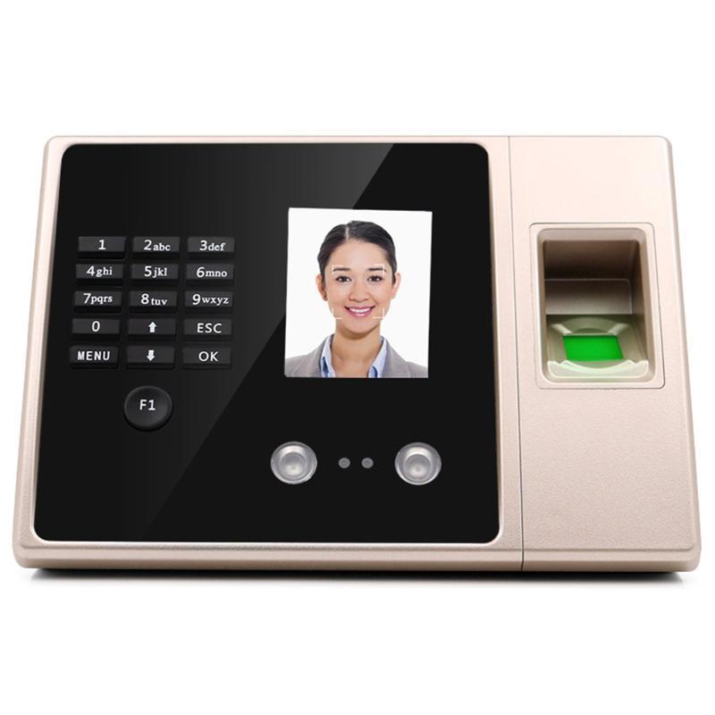 Sistema de reconhecimento facial E3 Dispositivo de máquina de atendimento de tempo de impressão digital de face biométrica