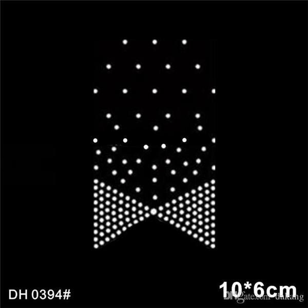 Free shipping Bling Bling Cheer Bow Rhinestone Heat Transfer Design Iron On Ribbons Custom Hotfix Motif Pattern DH394#