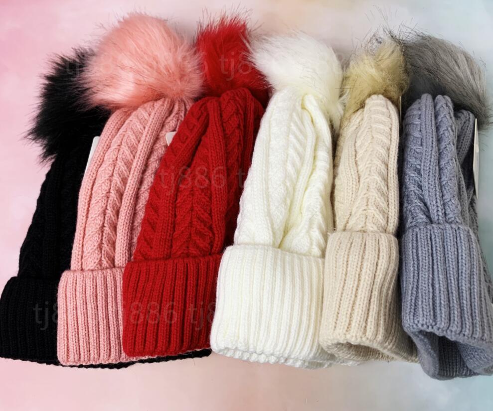 Gorros de luxo hight qualidade homens e mulheres lã chapéu de malha esportes clássicos crânio tampões womens high-end casual gorros bonnet villi confortável