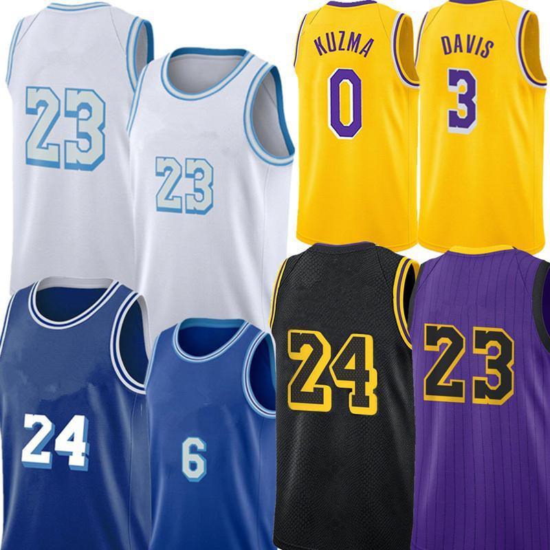 Talen 5 Horton-Tucker Jersey Alex 4 Caruso 23 Jersey Anthony 3 Davis Kyle 0 Kuzma Jersey J A MES Los Basketball Jerseys Angeles