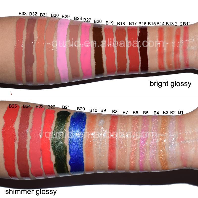 50 Liquid opaco rossetto Plumper Gloss, 63 63 Glassa labbra Luminosa trasparente 20 Pellicching Personalizzato Pacchetto Refill Tube OEM