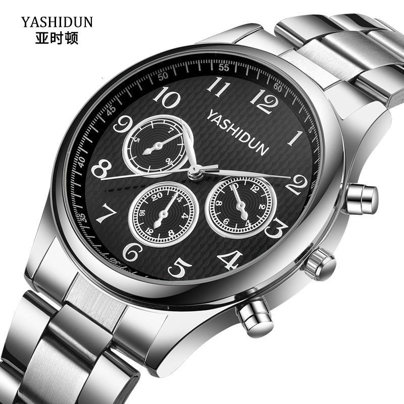 Ashton Fashion Trend In Steel Belt Quartz Watch Sports Uomo