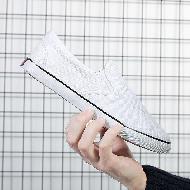 Özerklik Marka erkek kadın ayakkabı beyaz boyutu Euro 40 En kaliteli spor ayakkabı düşük kesilmiş nefes pedal rahat ayakkabılar