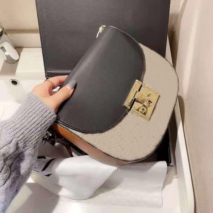 2021 숙녀 클래식 디자인 브랜드 메신저 가방 유행 고품질 어깨 가방 핸드백 레이디 쇼핑 가방 무료 원래 상자