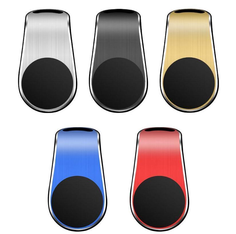 Supporto del telefono dell'automobile magnetica L Forma dell'automobile della clip dell'aria dell'automobile del clip del magnete universale Staffa del telefono cellulare universale in scatola