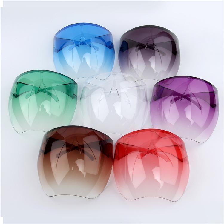 Amazon Top Clear Radical Alternative Transparent Respirator PC Anti-fog Color Full Face Shield