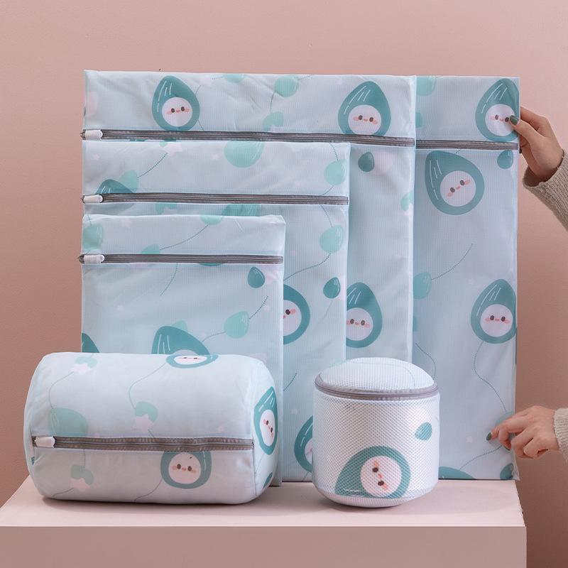 Wäscheservice-Taschen Waschbeutel Special für Unterwäsche-Druck Faltbare BH-Kleidung Organizer