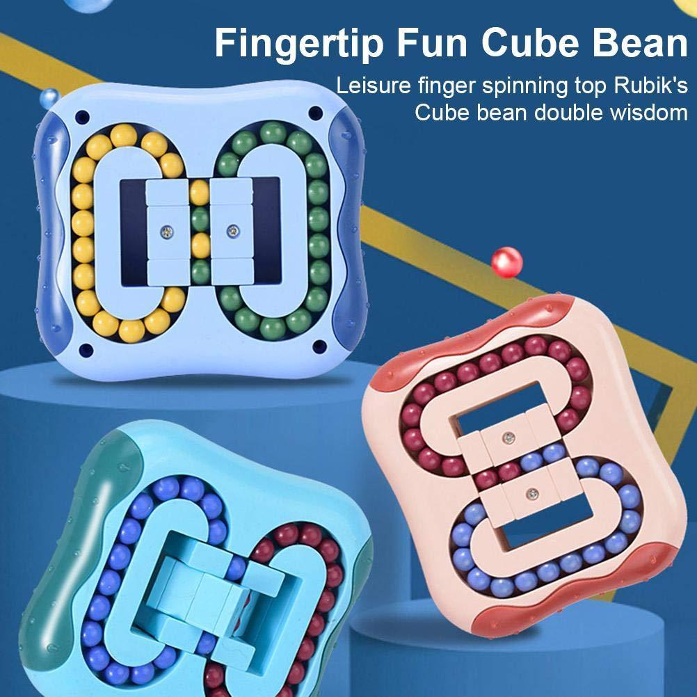 Brinquedos Educativos Descompressão Girando Feijão Mágico Brinquedos Girando Pequenos Beads Fidget Fidget Spinner Magic Cube Brinquedos para unisex-crianças quebra-cabeça