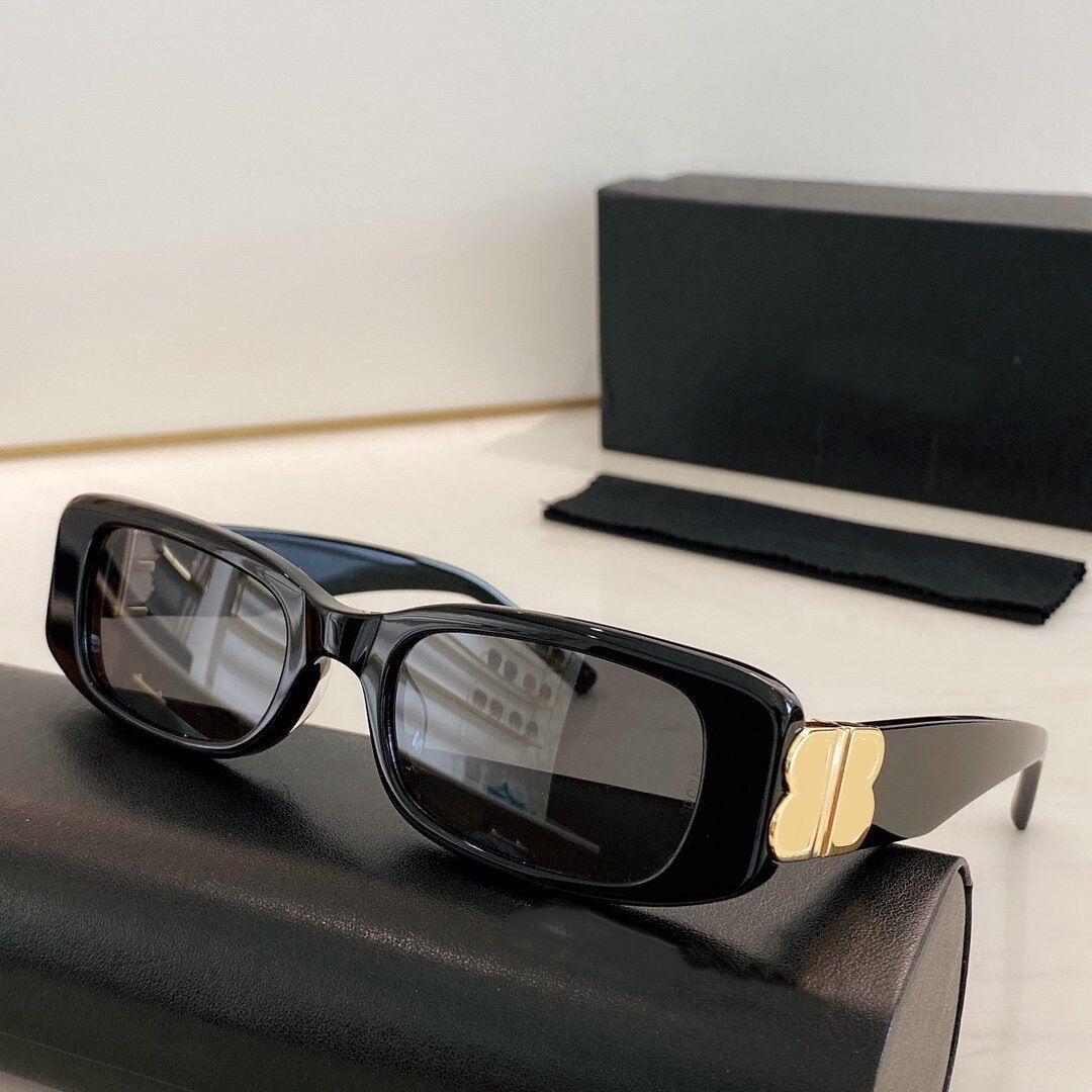 الفاخرة 0096 النظارات الشمسية أزياء المرأة العلامة التجارية deisnger كامل الإطار الكامل uv400 عدسة الصيف نمط كبير مربع أعلى جودة تأتي مع القضية