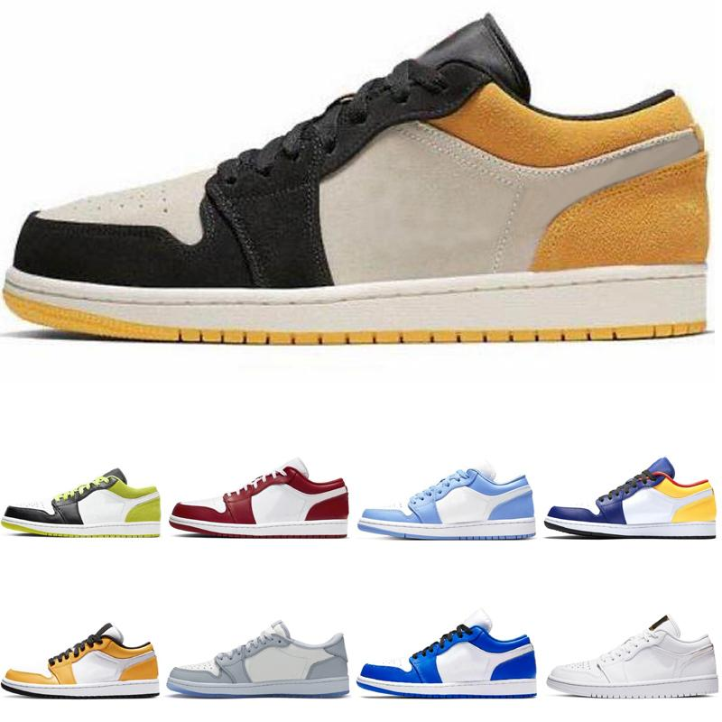 2021 Classic 1 stivali per uomo scarpe da basket 1 scarpe da ginnastica sportiva atletica bassa
