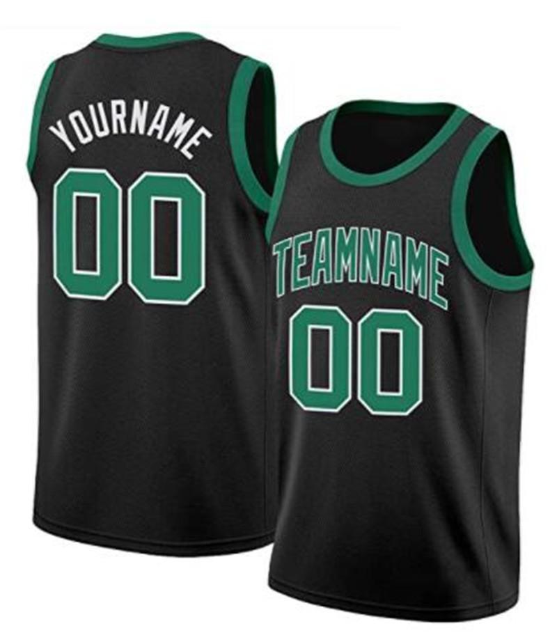 Costume jersey de basquete personalizado costurado San Francisco Nova Orleães South Florida Qualquer nome e número de manga curta esportes uniformes adulto