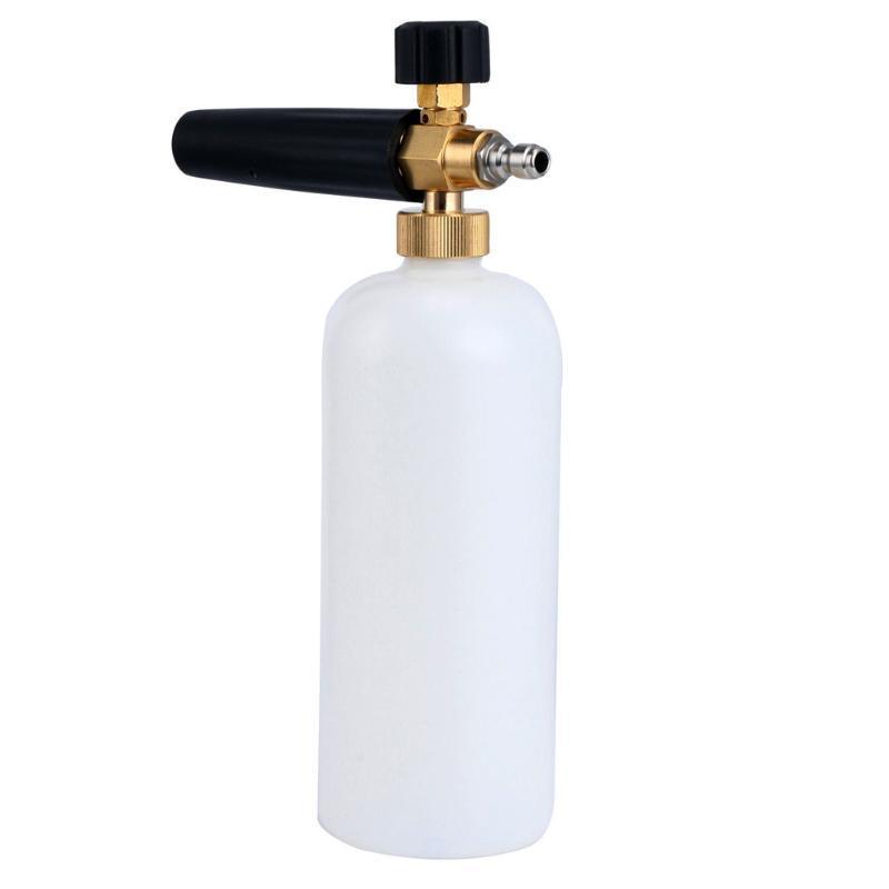 Scapoo di sapone regolabile in schiuma di schiuma di sapone Pulizia ad alta pressione Veicolo portatile Lavatrice Lance Finestra Pulito Snow Foamer