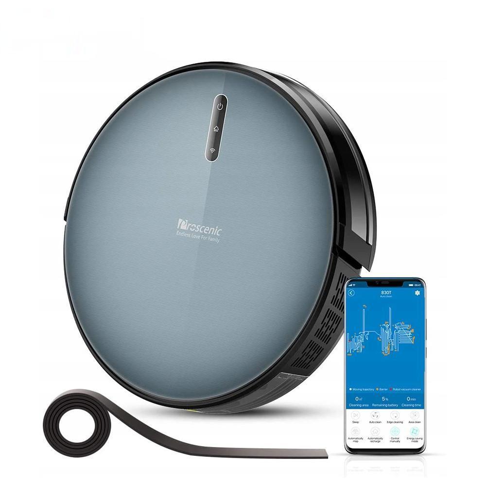 PROSCENIC 830T робот вакуумный очиститель приложение Alexa голосовой контроль 2000PA всасывание 350 мл водный бак с мокрой очистки робота