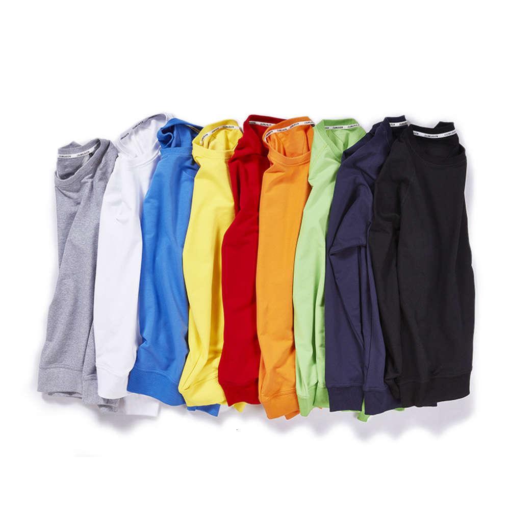 Круглый воротник свитер напечатанный шаблон катушка тонкая пружина и осень повседневная коллективная настройка с длинным рукавом