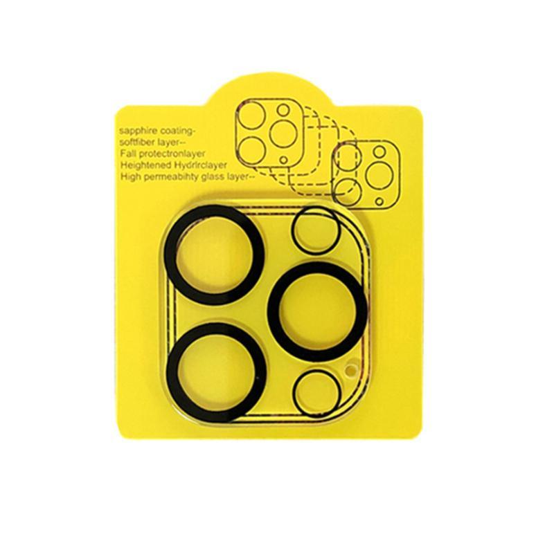 3D Şeffaf Tam Kapak Telefon Kamera Arka Lens Koruyucu Temperli Cam Film iphone 12 11 Pro Max Mini Paket Olmadan