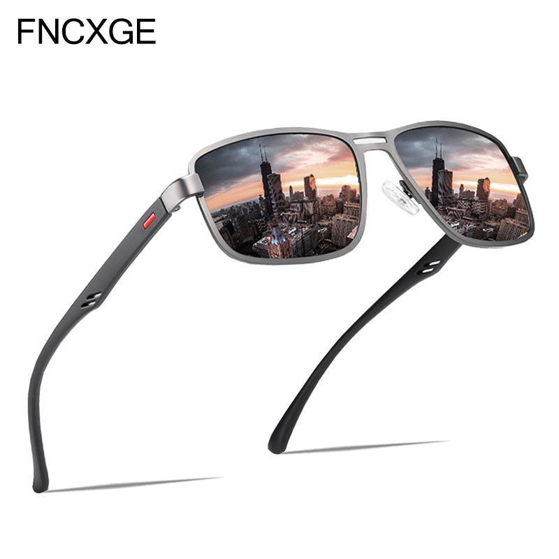 Polarized 2021 Mode Sonnenbrille männliche Brillen Marke Männer Retro Design Gläser für Pwnmc Klassische Sqaure Sun Männer Frauen Herren 5925 RFCWN