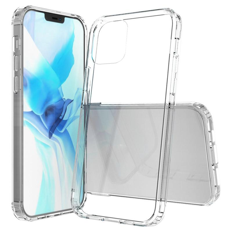 For Iphone 12 Case Hybrid Clear Slim Thin Shockproof Armor TPU Bumper Protective Case Cover for Iphone 12 Pro Max