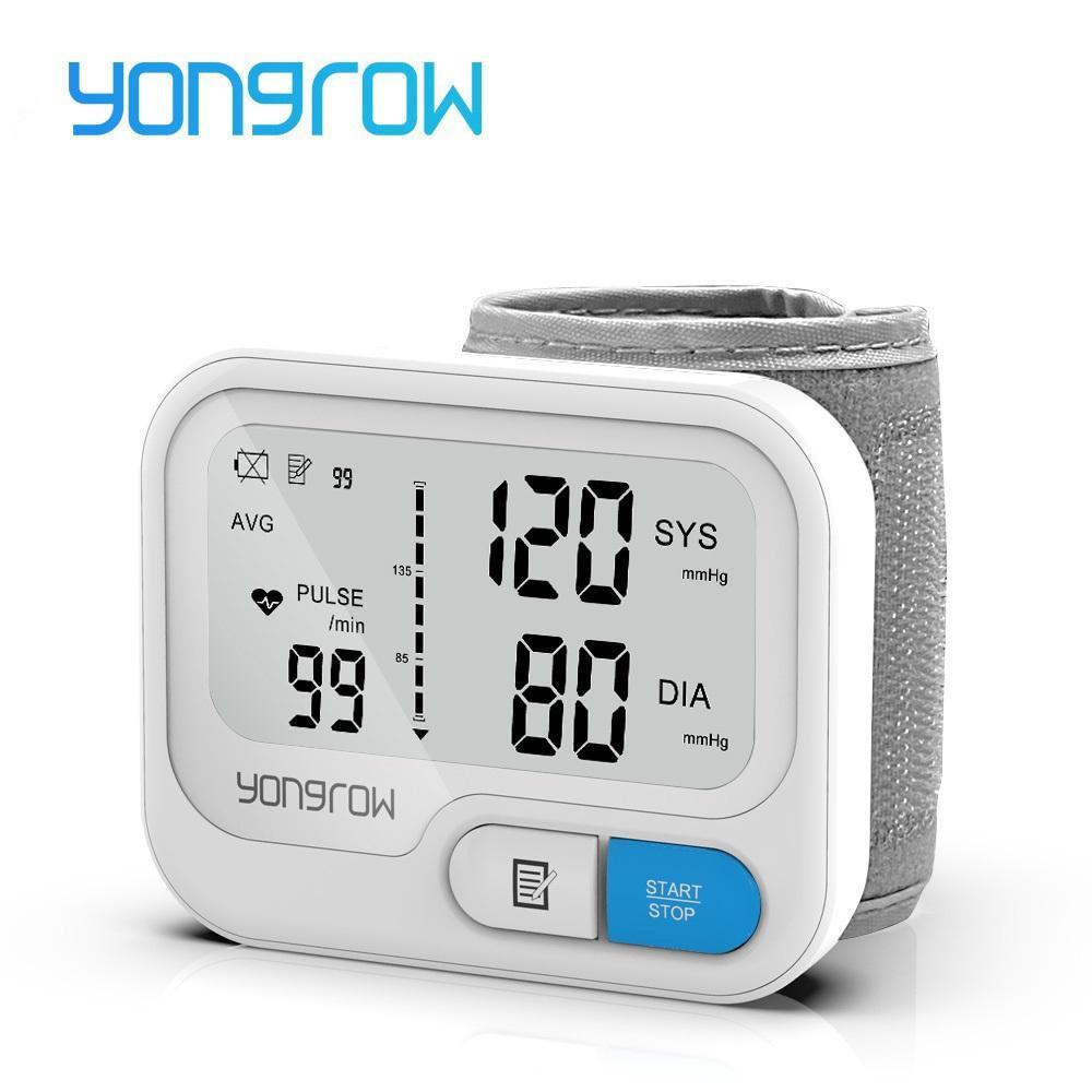 YONGROW Automatic Digital Tensiomètre Sphygmomanomètre Tensiomètre Tensiomètre Tensiomètre Tensiomètre Compteur Pulse Pulse BP