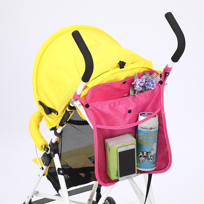 유모차 부품 액세서리 아기 가방 매달려 그물 가방 휴대용 우산 저장 컵 홀더 주최자 유니버설 유용한 유용한 액세서리 1453 B3