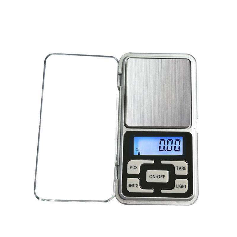 مصغرة مقياس الرقمية الالكترونية مقياس المجوهرات وزن مقياس التوازن جيب جرام شاشة عرض LCD مع مربع التجزئة 500 جرام / 0.1 جرام 200 جرام / 0.01 جرام 293 v2
