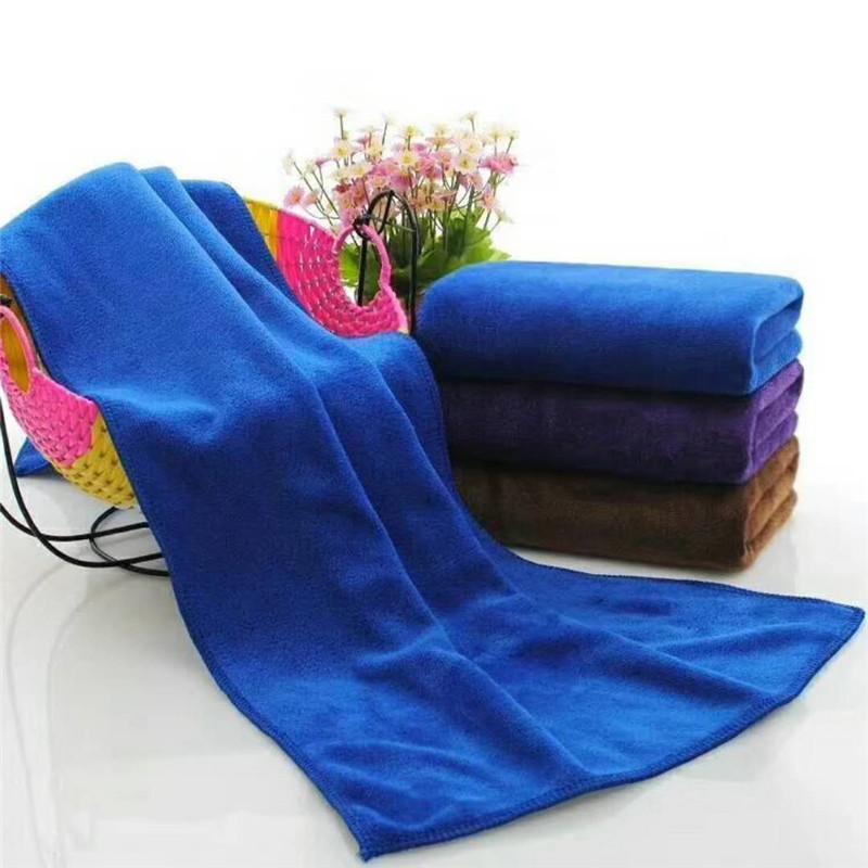 Toalha de limpeza absorvente espessada usada no salão de beleza e na barbearia