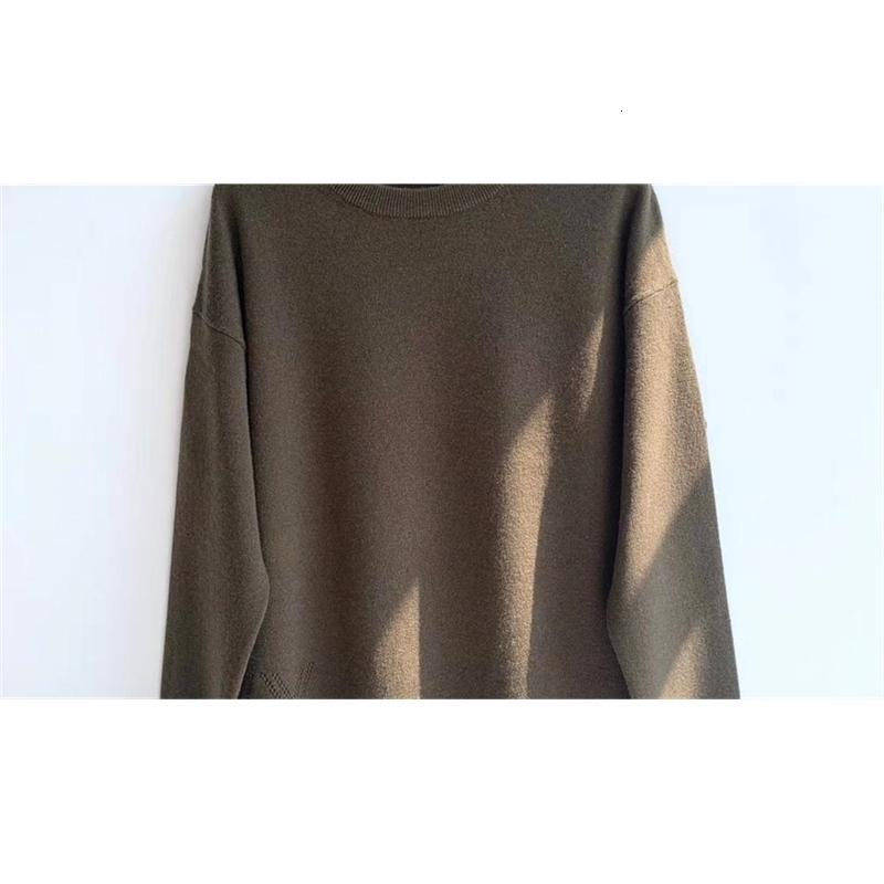 Kış kadın Sonbahar Kazak Yıldızları 100% Kaşmir O-Boyun Kazak Knitwear 2021 Yeni JU OA1W